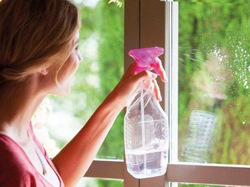 Siete trucos caseros para limpiar ventanas