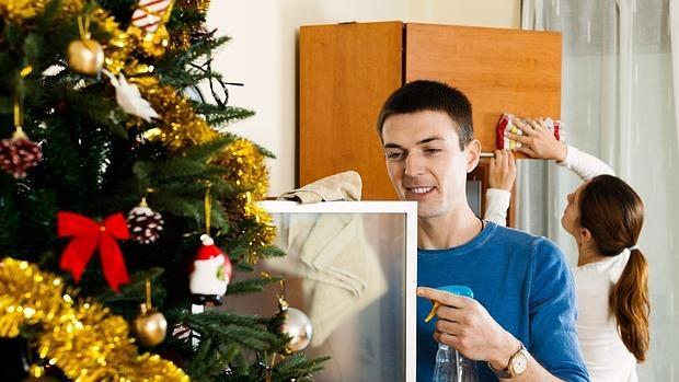Trucos de limpieza para unas navidades impecables