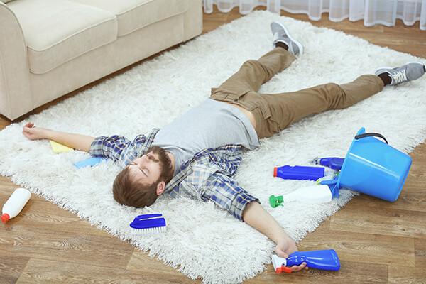 3 trucos caseros para limpiar alfombras en casa
